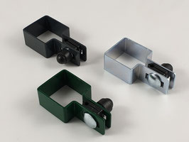 Endschelle Set quadratisch 50x50mm