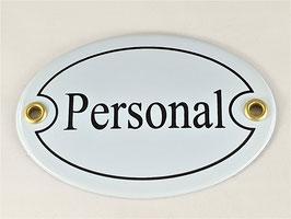 Türschild: Personal