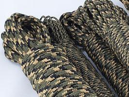 4mm Tarnseil Grün Camouflage Moro