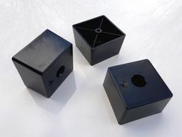 Möbelfuß quadratisch mit Filzgleiter