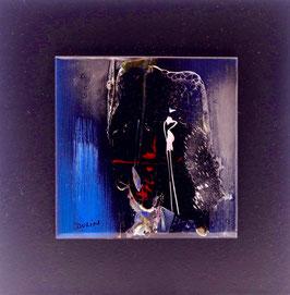 N°6 Tableaux sur Céramique  16x16 cm