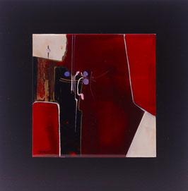 N°8 Tableaux sur Céramique  23x23 cm