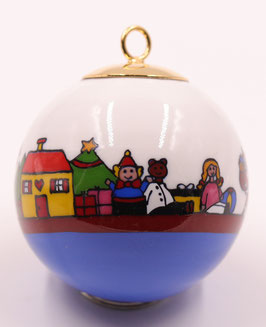 """Boule de Noël """" De ville en ville """""""