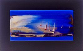 N°2 Tableaux sur Céramique  20x12 cm