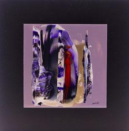 N°9 Tableaux sur Céramique  23x23 cm