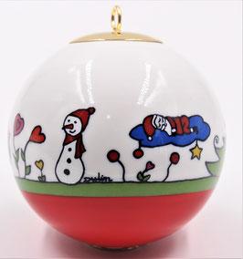 "Boule de Noël "" Famille père noel  """