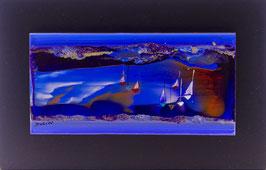 N°5 Tableaux sur Céramique  20x12 cm