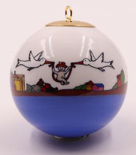 """Boule de Noël """" Naissance"""""""