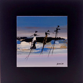 N°9 Tableaux sur Céramique  16x16 cm