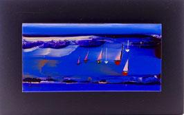N°7 Tableaux sur Céramique  20x12 cm