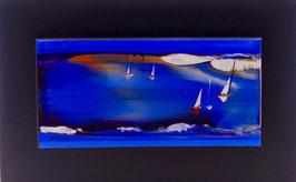 N°4 Tableaux sur Céramique  20x12 cm