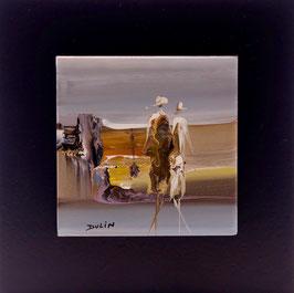 N°2 Tableaux sur Céramique  16x16 cm
