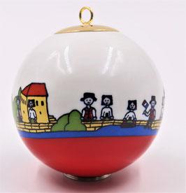 """Boule de Noël """" La petite France"""""""