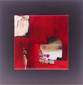N°6 Tableaux sur Céramique  23x23 cm