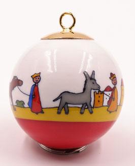"Boule de Noël "" La Crèche """