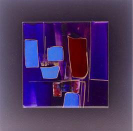 N°3 Tableaux sur Céramique  23x23 cm