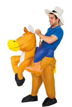aufblasbares Pferd