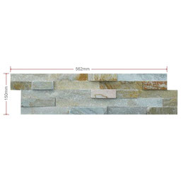 Oyster Split Faced Slate Maxi Z Tile 600x150x8-20