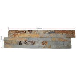 Rustic Split Faced Slate Mini Z Tile 600x150x8-13