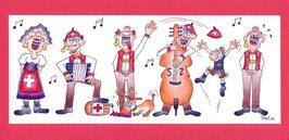 Swissness Panoramakarte Jodlergruppe