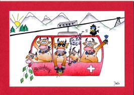 Swissness Grusskarte Alpsommer