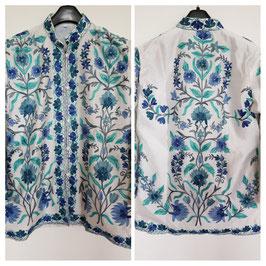 Jacket silk short embroidered JS-004