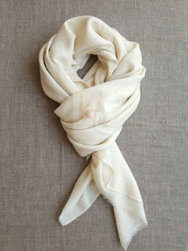 Pashmina shawl un-dyed natural