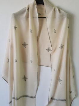 Cashmere scarf buti design 75x200cm  MPB-701