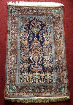 Silk on cotton Handknotted Carpet KT-SLKCTN333