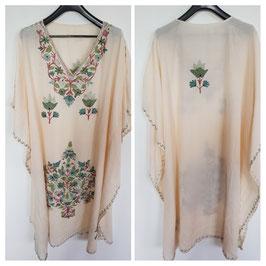 Kaftan crush cotton Embroidered CT-019