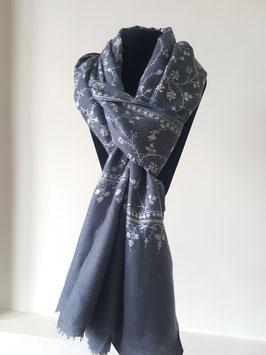 Cashmere shawl  75x200cm  MPJALGREY-1001