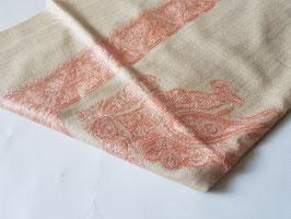 "Pashmina Omani Musar head scarf 135x135cm ""CREAM"" KT-DD528"