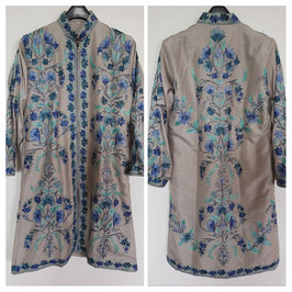 Jacket silk long embroidered JL-006