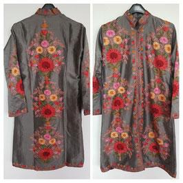 Jacket silk long embroidered JL-005