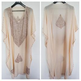 Kaftan crush cotton Embroidered CT-023