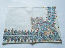 Off-white Cashmere wool Omani Turban/Masar KT-MPDD-688