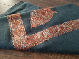 """Pashmina Omani Musar head scarf 135x135cm """"WHITE"""" KT-DD0275"""