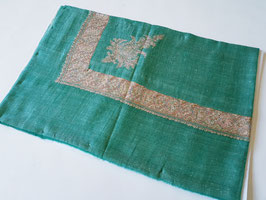 Pashmina Omani Musar (Arabian Turban ) GREEN KT-DD852