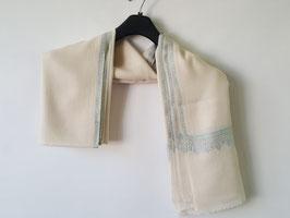 Cashmere scarf border design 75x200cm  MPB-700