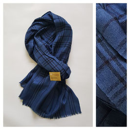 Cashmere wool check scarf KT-CSH401