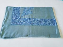 "Pashmina Omani Musar head scarf 135x135cm ""BLUE"" KT-DD237"