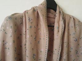 Cashmere scarf fine embroidery 75x200cm CSHFEMB-100
