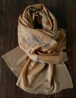 "Pashmina scarf ""BAILDAR BUTIDAR"" PSHBAILBUTI-986"