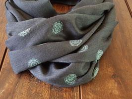 Fine Cashmere Spiral design scarf 75x200cm  MPS-58