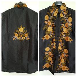 Jacket silk short embroidered JS-005