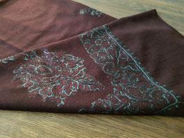 """Pashmina Omani Musar head scarf 135x135cm """"WHITE"""" KT-DD0276"""
