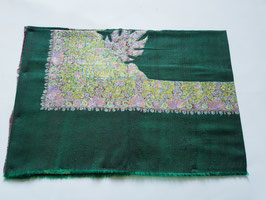 Pashmina fine Turban DORDOR  GREEN KT-DD859