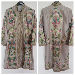 Jacket silk long embroidered JL-007