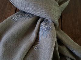 Fine Cashmere Spiral design scarf 75x200cm  MPB-56