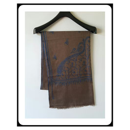 Fine Cashmere shawl 75x200cm  FCSB-6547